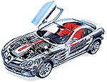MERCEDES BENZ SLR McLaren 1:12