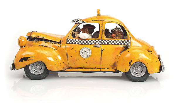 le taxi the taxi comic art of guillermo forchino. Black Bedroom Furniture Sets. Home Design Ideas