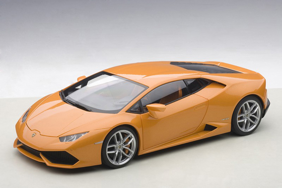 Autoart 74603 Lamborghini Huracan LP610-4 2014 Orange