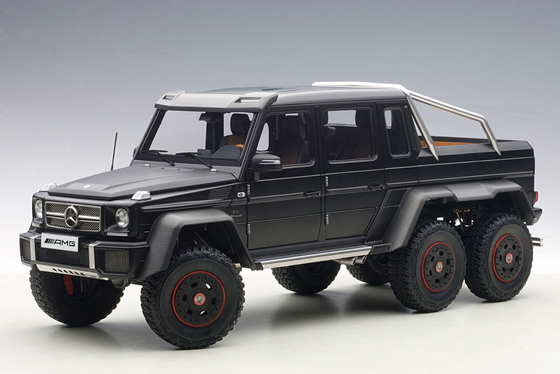 Autoart 76302 Mercedes Benz G63 AMG Matt Black