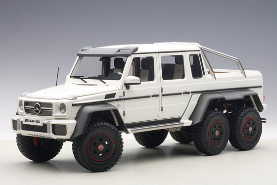 Autoart 76303 Mercedes Benz G63 AMG Matt White