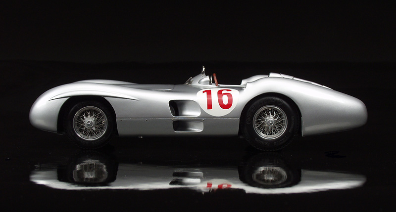 Stirling Moss Mercedes W196 R