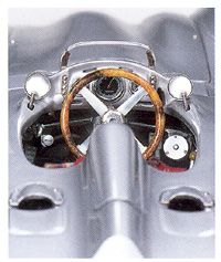 Auto Formular  Racing on Mercedes Benz Silver Arrow Streamliner W196r Cmc Precision Model