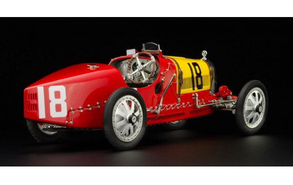 Bild 5 - Bugatti T35 Grandprix Spain nation colour project