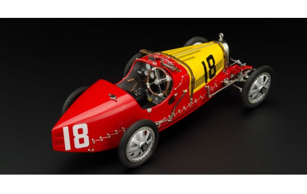 Bild 6 - Bugatti T35 Grandprix Spain nation colour project