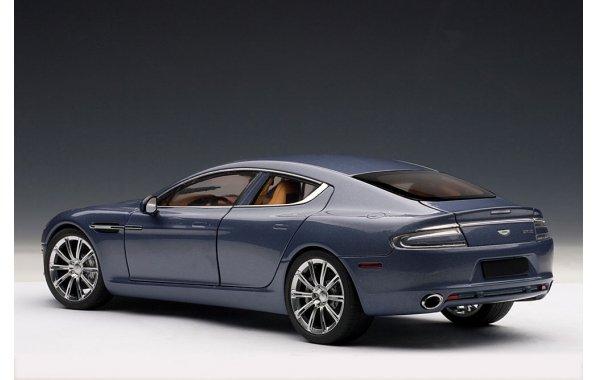 1 18 Autoart Modellauto Aston Martin Rapide 2010 Concours Blue