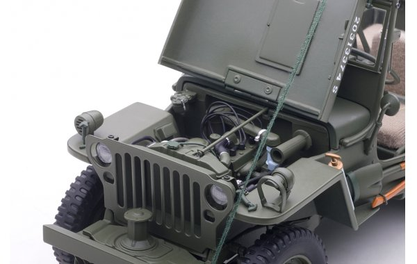Bild 11 - Jeep Willis Army Version mit Anhänger