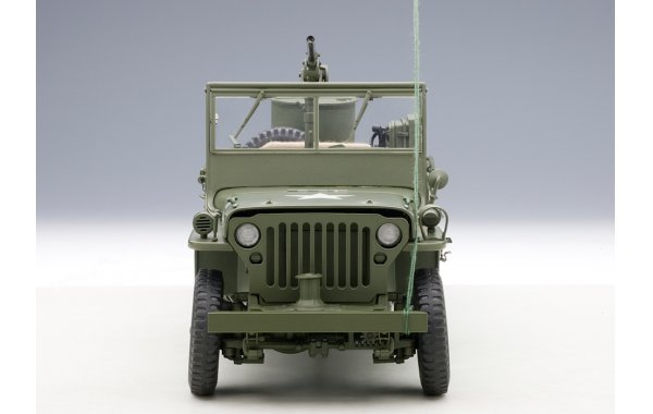 Bild 16 - Jeep Willis Army Version mit Anhänger
