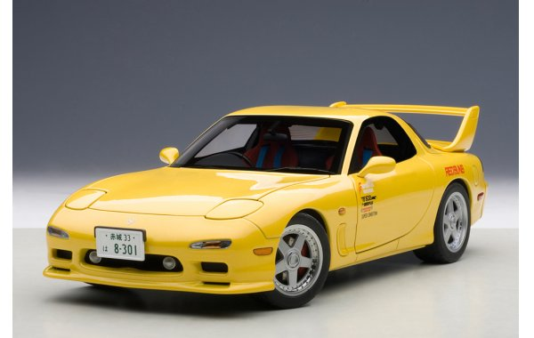 Bild 13 - Mazda Efini RX-7 New Animation Film Initial D