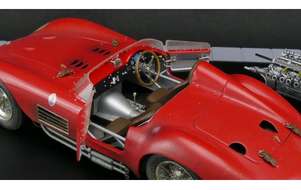 Bild 12 - Maserati 300S Dirty Hero Bundle