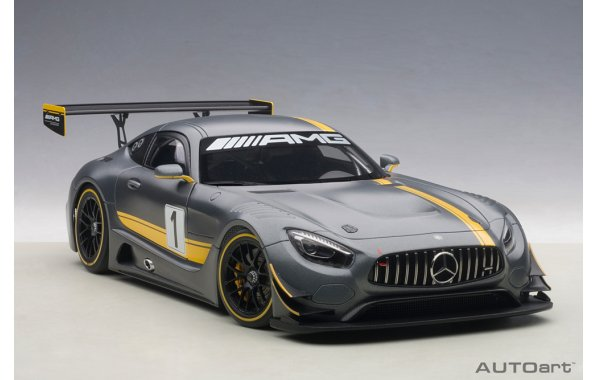 Bild 2 - Mercedes Benz AMG GT3 Presentation Car