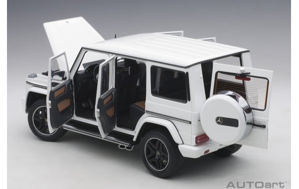 Bild 3 - Mercedes Benz G63 AMG 2017 gloss white