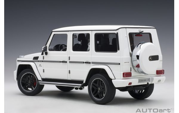 Bild 7 - Mercedes Benz G63 AMG 2017 gloss white