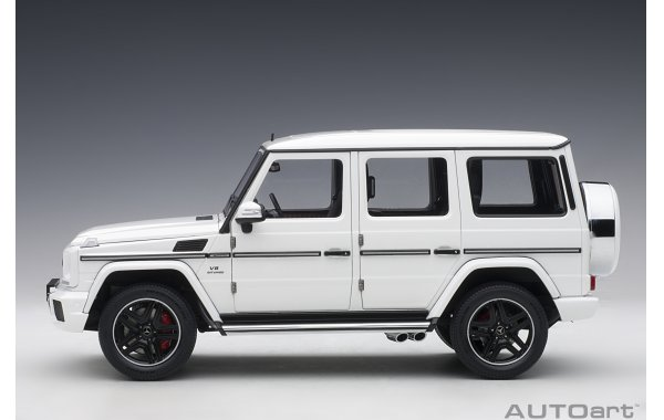 Bild 10 - Mercedes Benz G63 AMG 2017 gloss white
