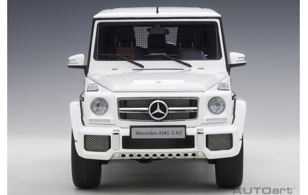 Bild 11 - Mercedes Benz G63 AMG 2017 gloss white