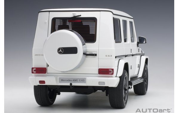 Bild 13 - Mercedes Benz G63 AMG 2017 gloss white