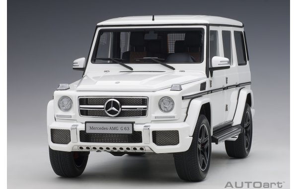 Bild 14 - Mercedes Benz G63 AMG 2017 gloss white