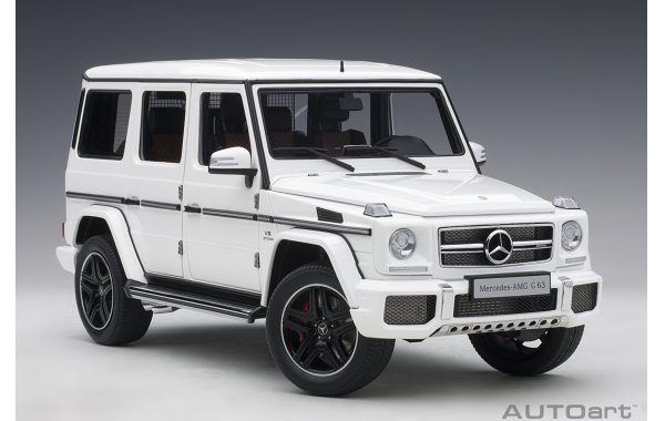 Bild 15 - Mercedes Benz G63 AMG 2017 gloss white