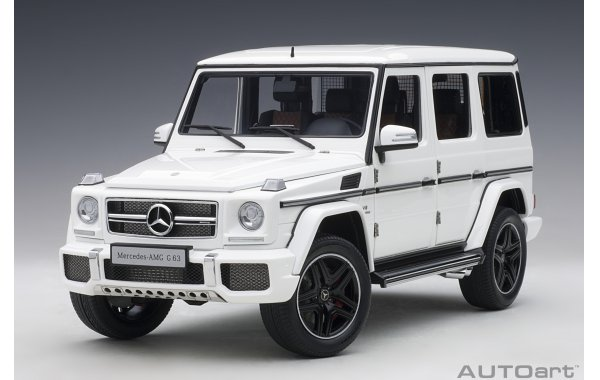 Bild 16 - Mercedes Benz G63 AMG 2017 gloss white