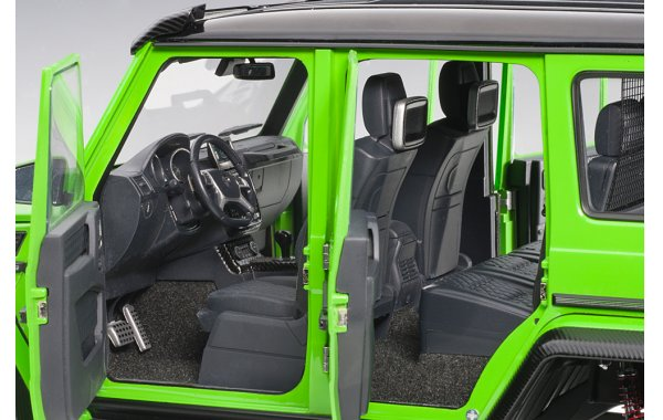 Bild 7 - Mercedes Benz G500 4x4 2016 alien green