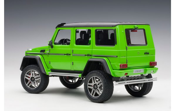 Bild 8 - Mercedes Benz G500 4x4 2016 alien green
