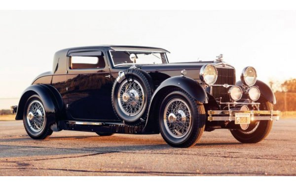 Bild 5 - Stutz Model M Supercharged Lancefield Coupe 1930