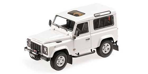 1 18 kyosho kyo8901fw modellauto land rover defender 90. Black Bedroom Furniture Sets. Home Design Ideas