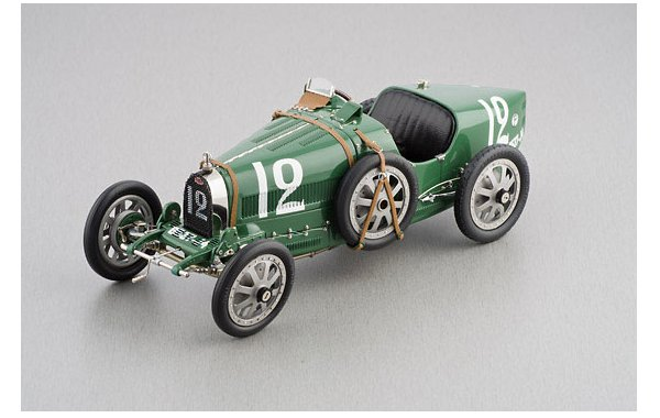 Bild 1 - Bugatti T35 Grandprix England nation colour project