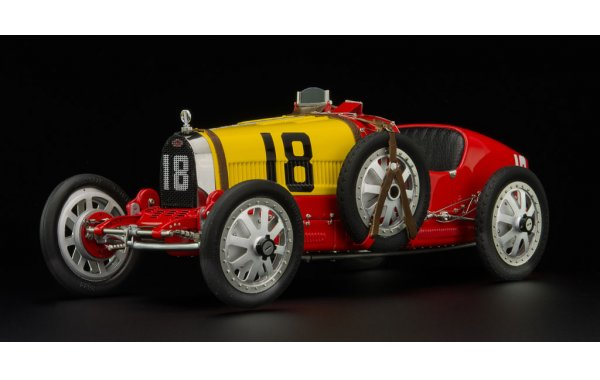 Bild 1 - Bugatti T35 Grandprix Spain nation colour project