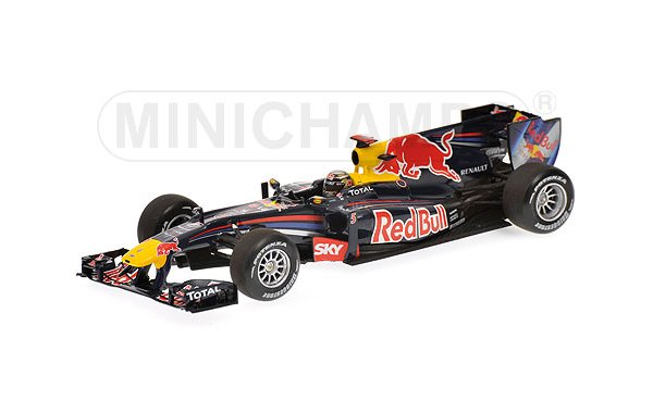 Bild 1 - Red Bull Racing RB6 Sebastian Vettel Winner Brasilien GP Winner 2010