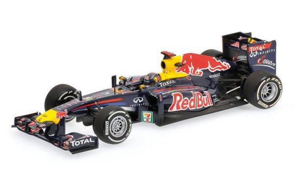 Bild 1 - Red Bull Racing RB7 Sebastian Vettel Japan GP world champion 2011