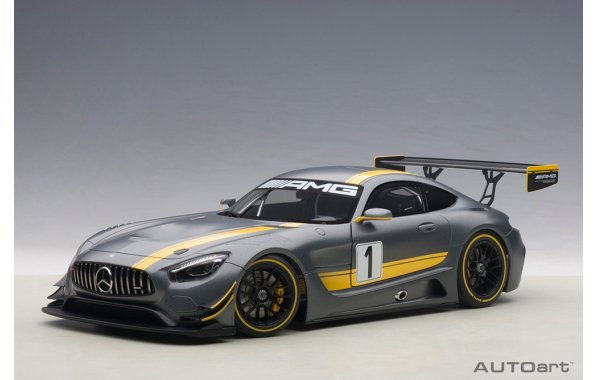 Bild 1 - Mercedes Benz AMG GT3 Presentation Car