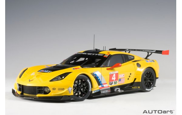 Bild 1 - Chevrolet Corvette C7R LIME ROCK 2016