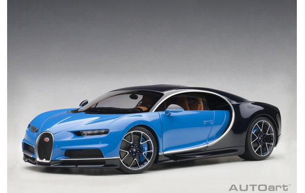 Bild 1 - Bugatti Chiron 2017 french racing blue