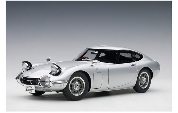 Bild 1 - Toyota GT 2000 Coupe 1965 Silver