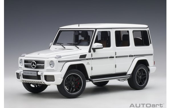 Bild 1 - Mercedes Benz G63 AMG 2017 gloss white