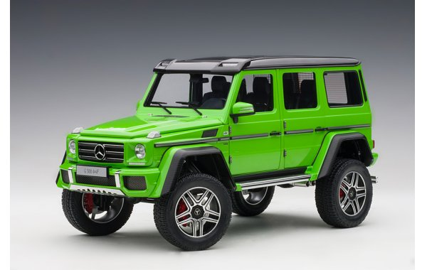 Bild 1 - Mercedes Benz G500 4x4 2016 alien green