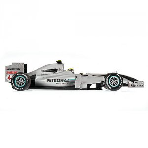 Mercedes GP Nico Rosberg Showcar 2010