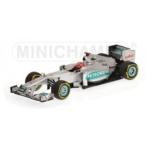 Mercedes AMG F1 Michael Schumacher showcar 2012