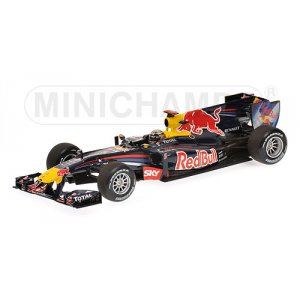 Red Bull Racing RB6 Sebastian Vettel Winner Brasilien GP Winner 2010
