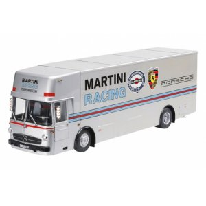 Mercedes Benz Renntransporter Porsche Martini Racing