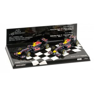 Red Bull Racing RB7 2-Car Set Constructor World Champion 2011