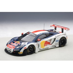 McLaren MP4-12C GT3 Red Bull 2013 Loeb/Parente #9