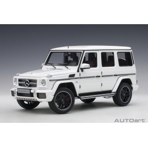 Mercedes Benz G63 AMG 2017 gloss white