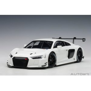 Audi R8 Lms Plain Color Version white