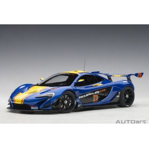 McLaren P1 GTR 2015 metallic blue