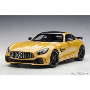 Mercedes AMG GT R 2017 Yellow metal.