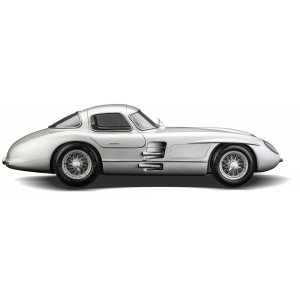 Mercedes Benz 300 SLR Uhlenhaut coupe