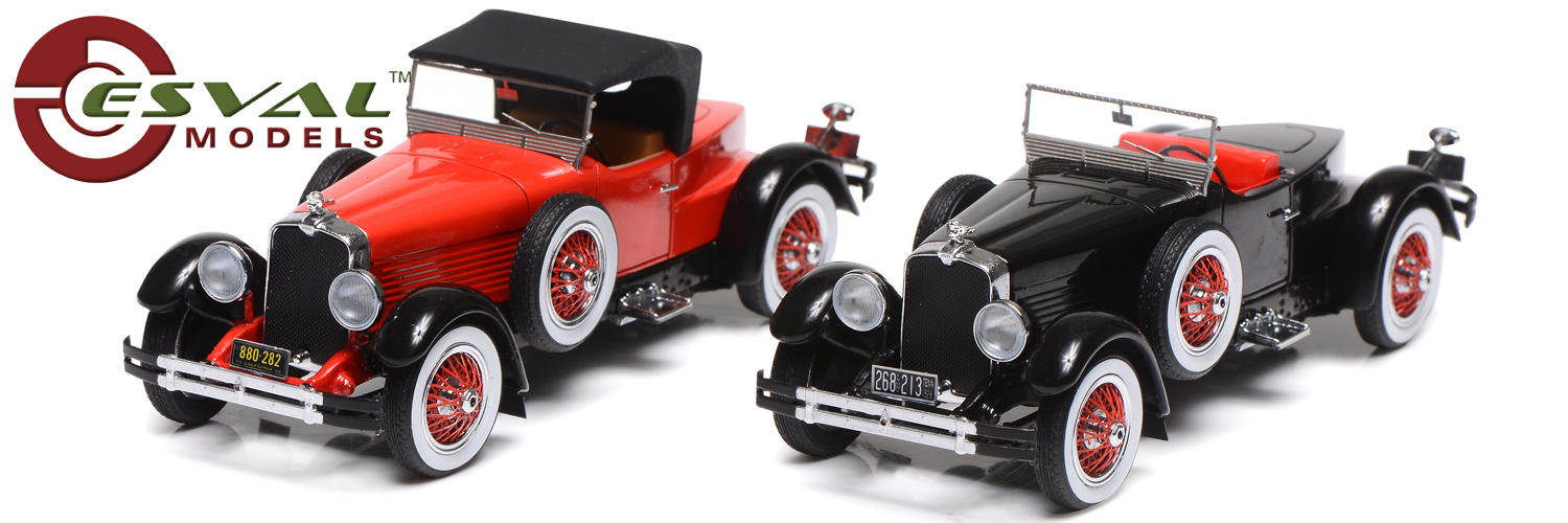 Esval models Stutz Black Hawk Speedster