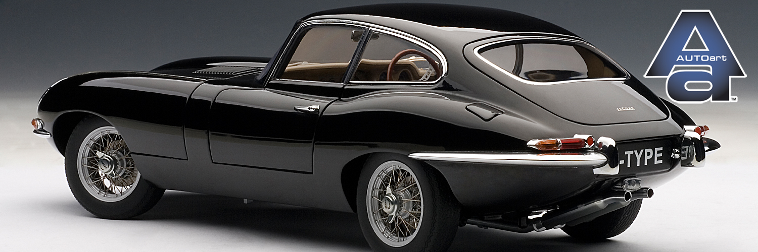 Autoart 1:18 Modelautos Jaguar E-Type Coupe